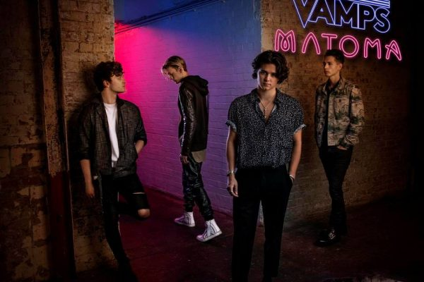 The Vamps are rising again with their new single and tour announcement | 600 x 400 jpeg 39kB